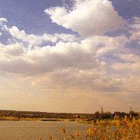 Небо весной :: ольга хадыкина
