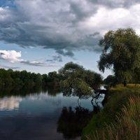 ...над рекой... :: Андрей Гр