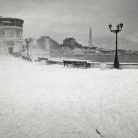 Севастополь в снегу :: Алексей Латыш