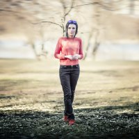 ♥♥♥ Анютка, просто кадр с прогулки ♥♥♥ :: Alex Lipchansky