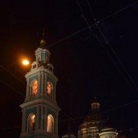 вид на колокольню Елоховского храма :: Галина R...