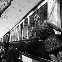 """Репортаж с праздника """"День трамвая"""" :: Людмила Быстрова"""