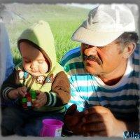 Батько и его продолжение.... :: Людмила Богданова (Скачко)