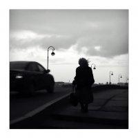 Гранитный берег, вечер, дама...) :: sv.kaschuk