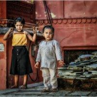 """""""Дети Мира""""...Джайпур...Индия. :: Александр Вивчарик"""