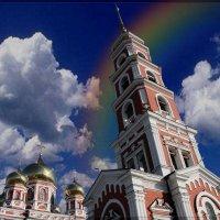 Купола и шпиль. :: Anatol Livtsov