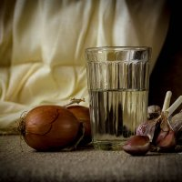 Про лук и чеснок :: Евгения Каравашкина