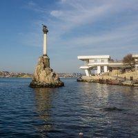 Памятник затонувшим кораблям. Севастополь. :: Александр Гапоненко