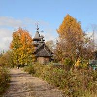 Село Благовещенье. Церковь Благовещения Пресвятой Богородицы :: demyanikita