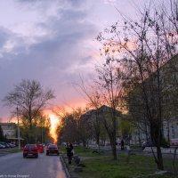 В пурпурном закате... :: Ксения Довгопол
