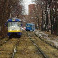 Пути трамвая не исповедимы :: Владимир Максимов