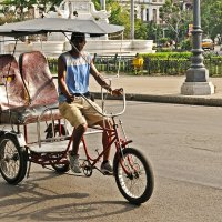 Кубинское такси с ветерком :: Виктор Льготин