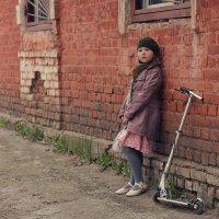 прогулка по старому двору :: Вера Шамраева