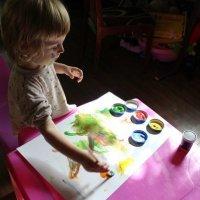 Юная художница-2 :: Евгения Беркина