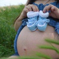 Вся красота женщины заключается в беременностию :: Ника Светлакова