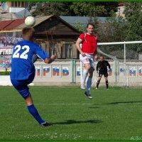 Пушечный удар :: Андрей Заломленков