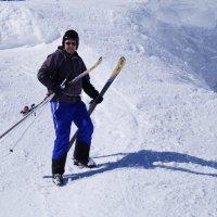 Ещё один вид спуска с гор. :: Серж Поветкин