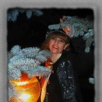 В уютном свете ночного фонарика... :: Людмила Богданова (Скачко)