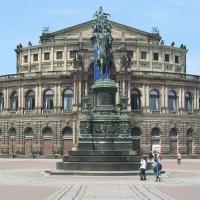 Дрезден - оперный театр :: Елена Павлова (Смолова)