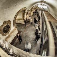 Я стою в метро, посреди движенья :: Ирина Данилова