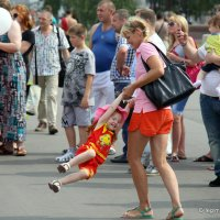 подготовка будущей экстремалки :: Олег Лукьянов
