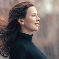 Настя и ветер :: Анна Шелест
