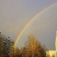 Вот и радуга пришла !!! :: Мила Бовкун