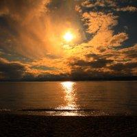 Закаты на Хубсугуле. :: BORIS LAMBERT