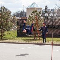 Выступления казаков на открытии выставки Победа в ЦДХ :: Николай Ефремов