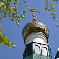 Купол, крест, небо... :: Сергей Махонин