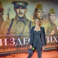 """На премьере фильма """"А зори здесь тихие..."""" 2015 :: Евгений Кривошеев"""