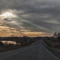 """"""" Возвращаясь домой на закате... """" :: Светлана Лиханова"""