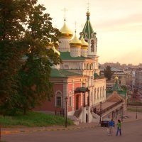 Церковь Предтечи в Н.Новгороде :: Александр Табаков