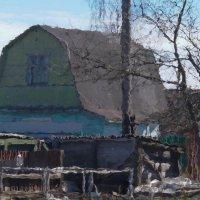 Пластелиновый дом. :: Владимир Пименков