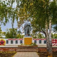 Памятник Воинам-землякам, погибшим в годы Великой Отечественной войны. Село Державино. :: Elena Izotova