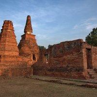 Древние руины в Аюттхае :: Евгений Печенин