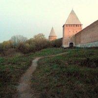 Смоленская крепость, сумерки. :: Игорь