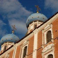 Купола Успенского храма :: Александр Буянов