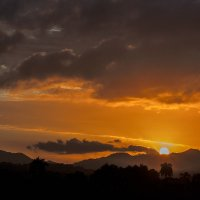 Закат. Восточные горы Малые Кордильера-Орьенталь :: Александр Белик