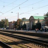 Вокзал г.Артёмовск :: Александр Казанцев