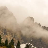 горы. накрывает :: Горный турист Иван Иванов