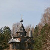 Казанский храм на о. Светлояр :: Евгения Куприянова