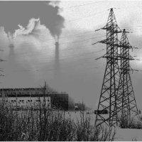 Электростанция :: Василий Хорошев