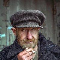 Портрет сельского мужчины :: Светлана Гвоздева