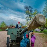 Орудие и дети :: PROBOFF-RO (Прилуцкий Ростислав)