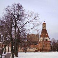 Вид на башню Симонова монастыря :: Денис Масленников