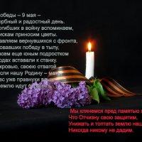 С праздником ПОБЕДЫ! :: Наталья Джикидзе (Берёзина)