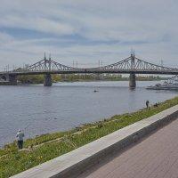 Тверь, Набережная Афанасия Никитина.Староволжский мост (Старый мост) :: Михаил (Skipper A.M.)