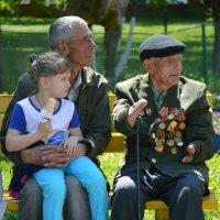 Низкий поклон Ветеранам! :: Наталья Шелыганова