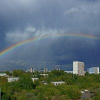 А из нашего окна радуга была видна :: Alex